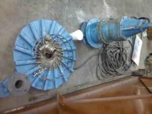 Equipos sumergibles mantenimiento y reparación