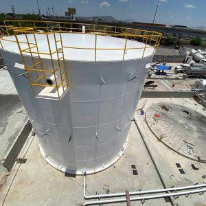 Construcción tanques de almacenamiento