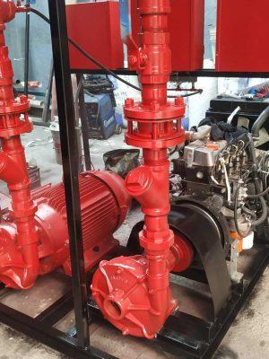 bomba Diesel contra incendio